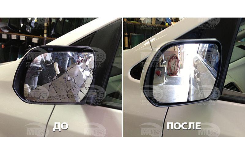 ремонт бокового зеркала toyota